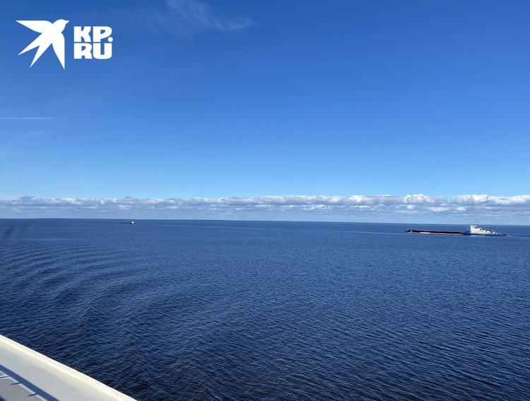 На севере России, на самом деле, очень интенсивное судоходство.