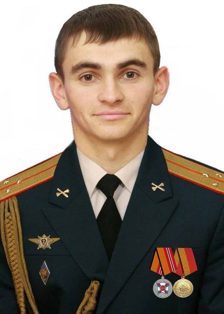 Герой России, старший лейтенант Александр Прохоренко.