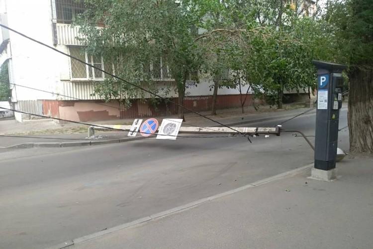 Один из инцидентов произошел на переулке Островского. Фото: vk.com/rostov_typical
