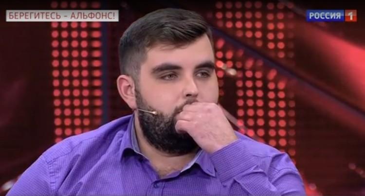 Евгений Уразов потерял 1,5 миллиона после работы со Спиридоновым. Фото: скришот эфира