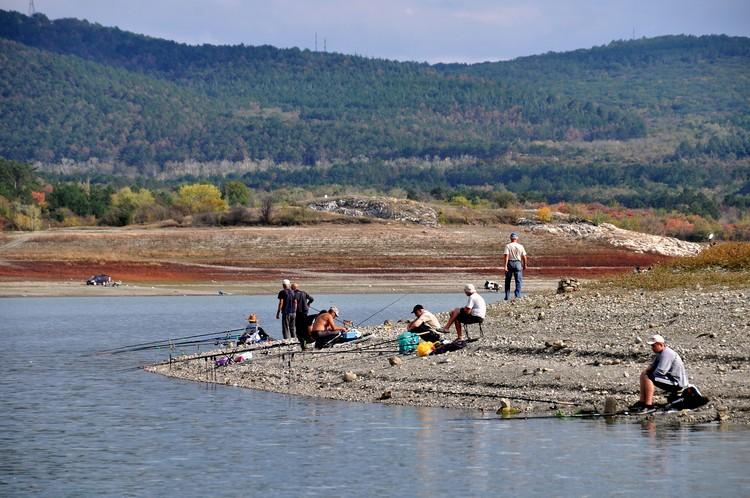 Вода из Симферопольского водохранилища идет в систему КрымТЭЦ