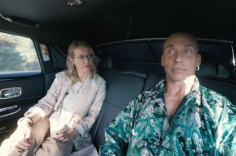 Ксения Собчак взяла интервью у изменщика-стриптизера и его жены. Фото: кадр видео.