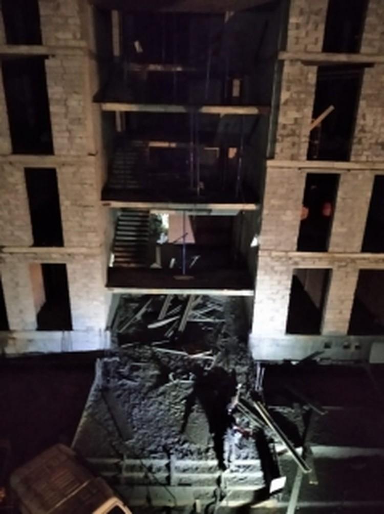 Фото сделано сразу после трагедии. Фото: СК РФ по ХМАО-Югре