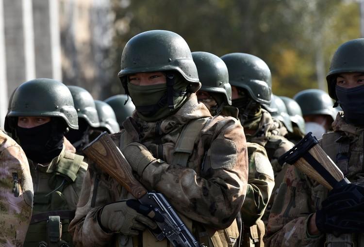 Военные силы приведены в боевую готовность