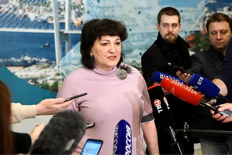 Татьяна Детковская, главный санитарный врач края.