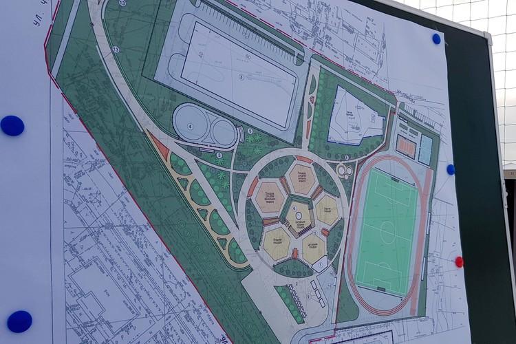 Рядом со стадионом обещали сделать целый олимпийский парк. Фото: zs74.ru