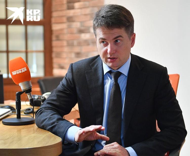 Первый заместитель руководителя аппарата мэра и правительства Москвы, руководитель департамента торговли и услуг столицы Алексей Немерюк.