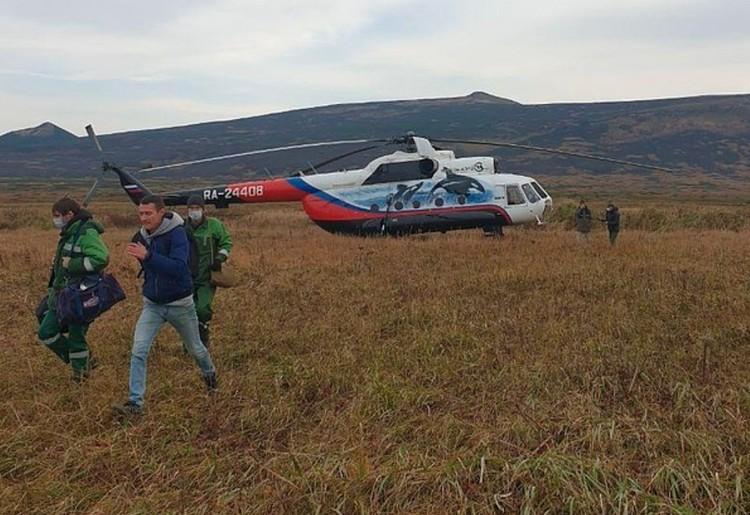 Дирекция Кроноцкого заповедника организовала вертолетную экспедиция к берегам Охотского моря. Фото: Александр Федотов и Виталий Шикора