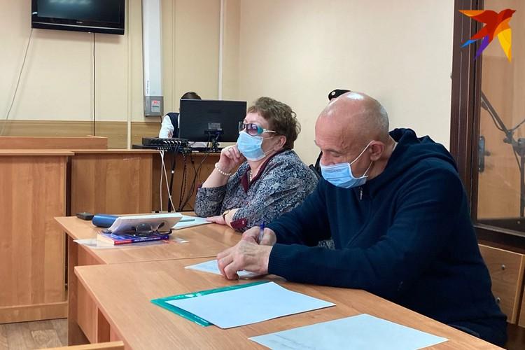 Экс-глава Удмуртии Александр Соловьев на оглашении приговора 14.10.2020 Ульяна Колмогорова