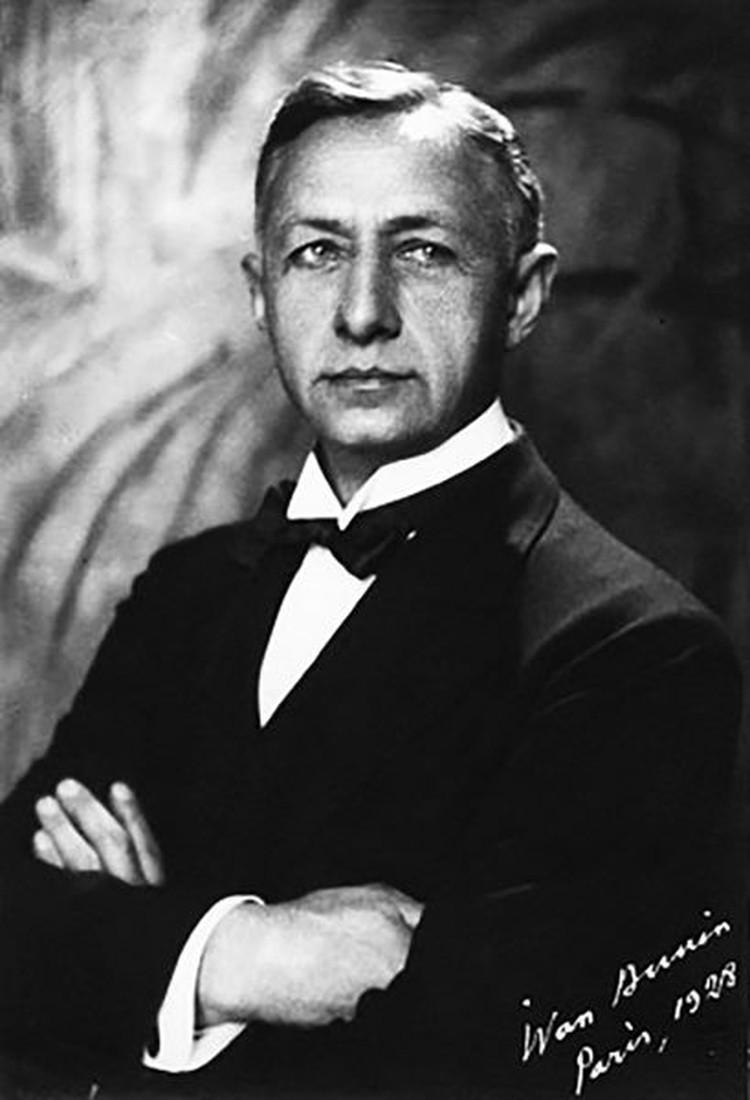 Иван Бунин в 1928 году.
