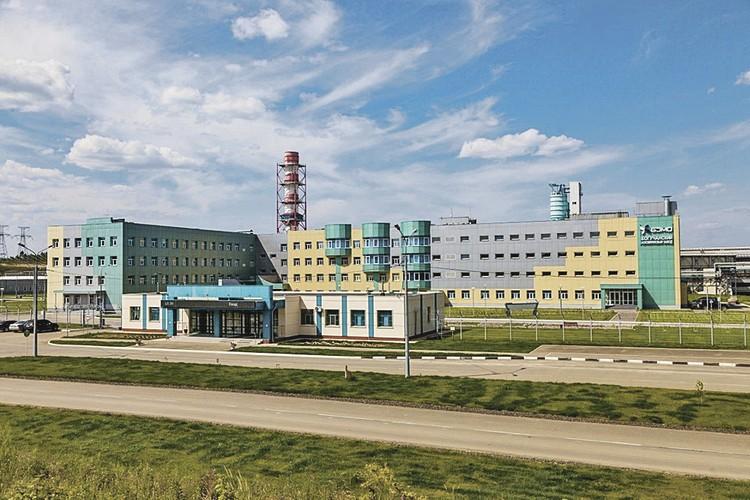 Завод в Таежном. Фото предоставлены пресс-службой БоАЗ