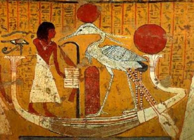 Птица Бенну была символом восресения у древних египтян.