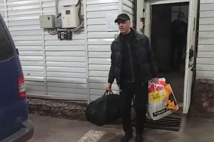 Арест Быкова 22 октбяря