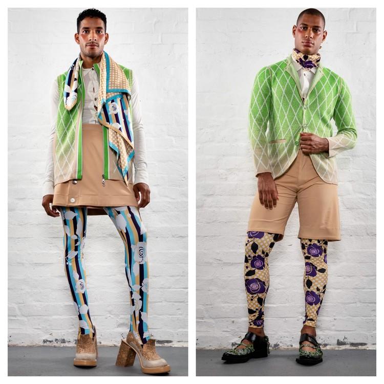Коллекция Лайнуса Леонардссона из Великобритании. Фото: предоставлено Национальной палатой моды.