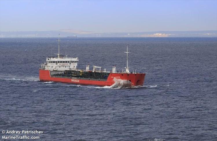 Корабль, на котором случилось ЧП в Азовском море. Фото: marinetraffic.com