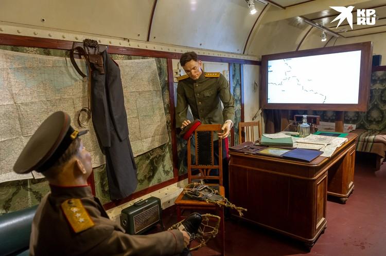 Так выглядит штаб маршала Рокоссовского