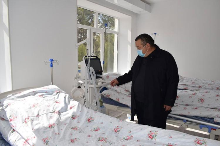 Губернатор успел проверить готовность больниц к приему пациентов с ковидом.
