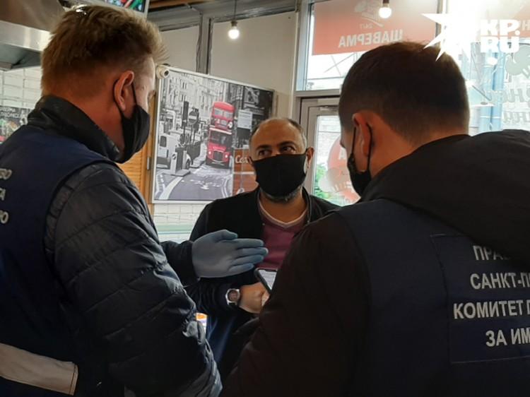 Владельцу кафе за нарушение грозит штраф до 50 тысяч рублей