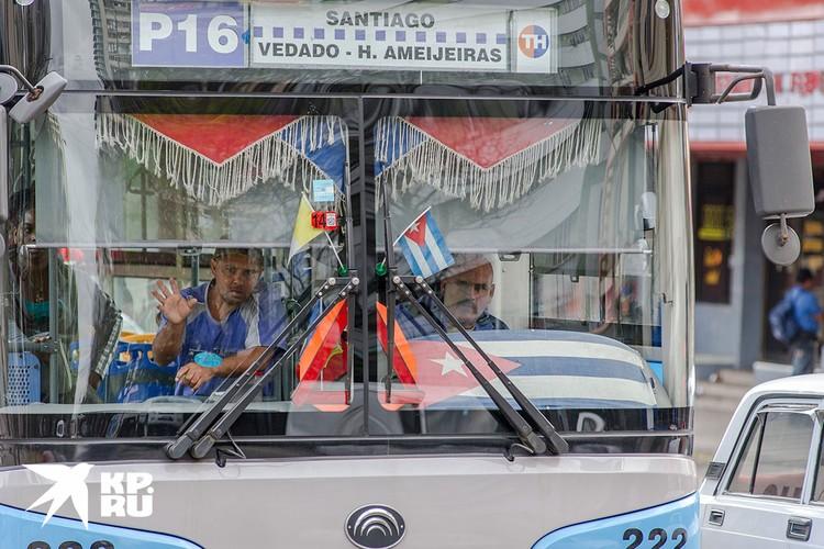 Водители автобуса. Фото: Алексей Белянчев