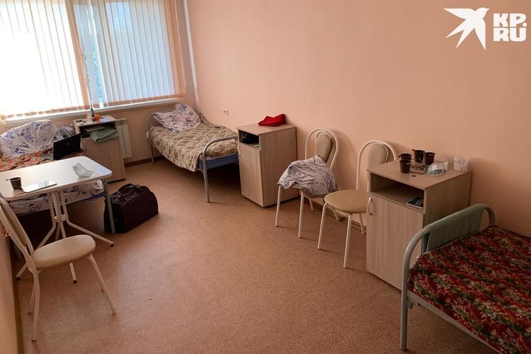 Палата, в который живут испытатели. Фото: Предоставлено героем публикации.