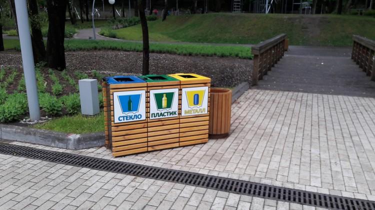 Пока даже такие небольшие комплексы встречаются крайне редко в Воронеже, например, в Центральном парке
