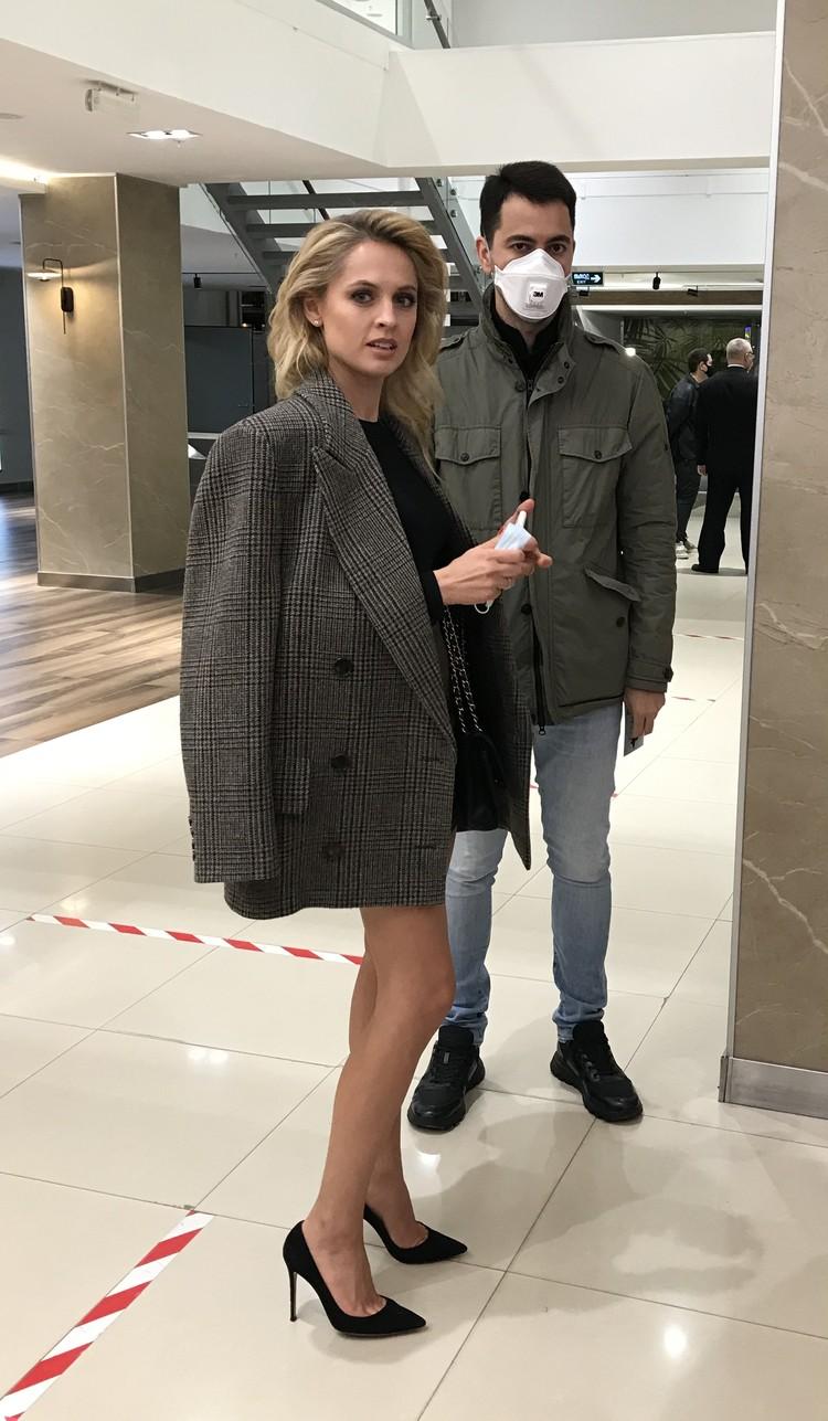 Актриса Яна Студилина с мужем Александром Роднянским.