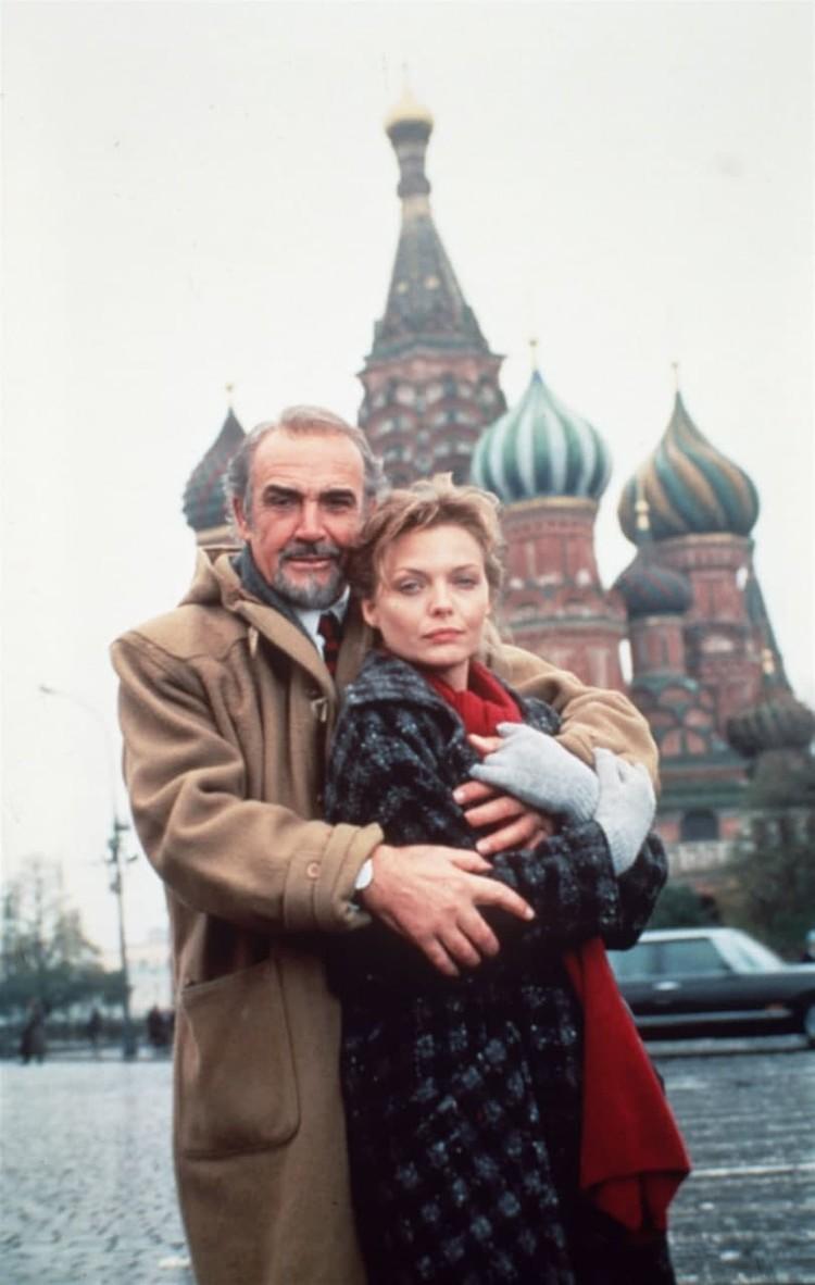 Шон Коннери в Москве