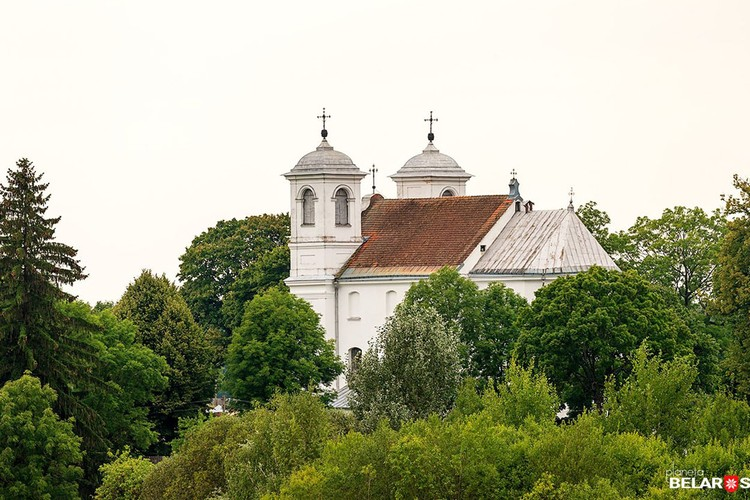 Храм конца XVIII века - яркий представитель стиля барокко. Фото: Сергей Плыткевич.