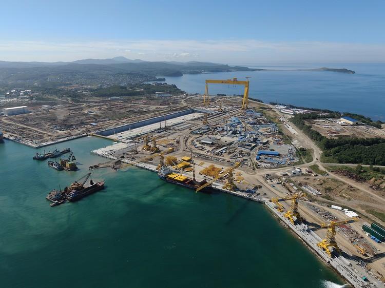 Один из самых активных участников программы является судостроительный комплекс «Звезда». Фото: пресс-служба ООО «ССК «Звезда»