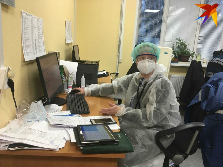 Каждый день только в один филиал поликлиники №2 поступает свыше 300 вызовов.