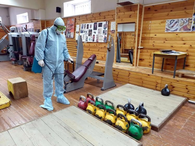 В Томской области все учреждения работают, строго соблюдая санитарные требования.
