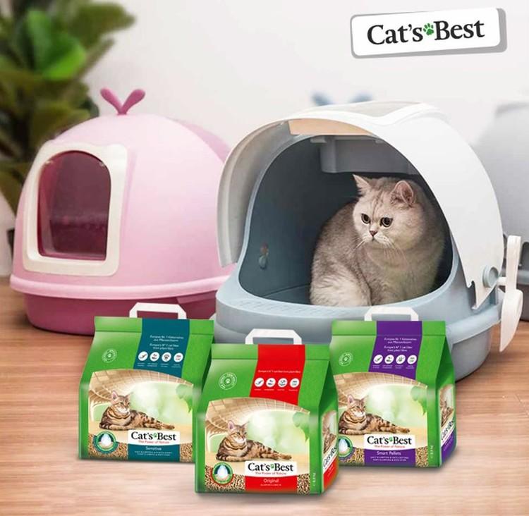 Разработано несколько видов наполнителей с разными свойствами и упаковки разного веса.