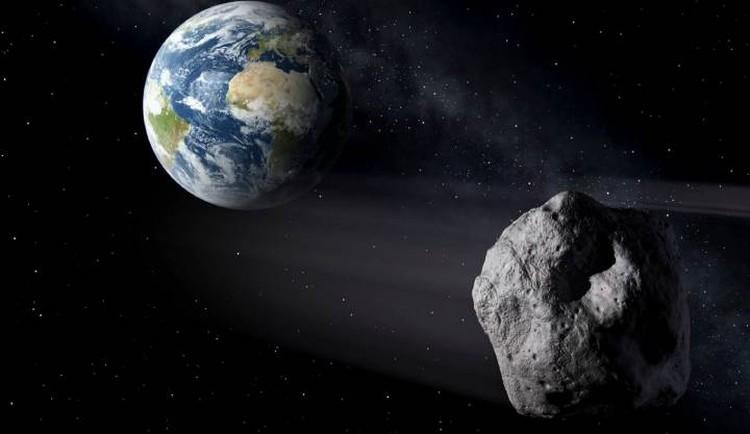 Астероид подлетал к Земле незамеченным.