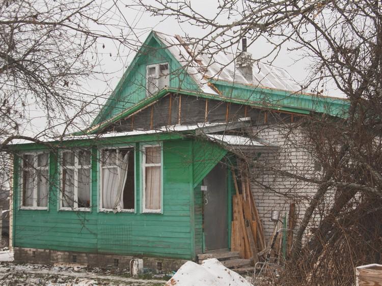 Дом в деревне Макариха, где нашли ребенка