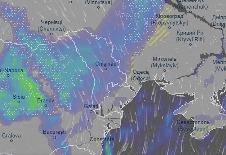 Ночью Молдова окажется в снежном кольце.
