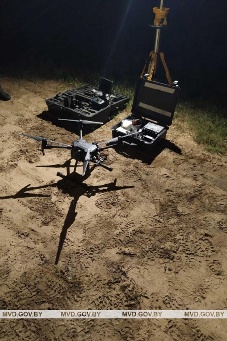 В поисках пропавших использовали дроны. Фото: МВД.