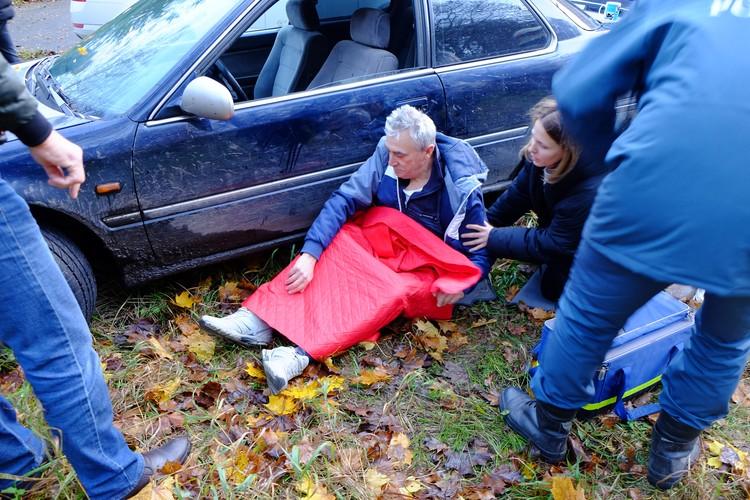 Некоторых с места аварии в больницу увозили родственники до приезда «скорой».