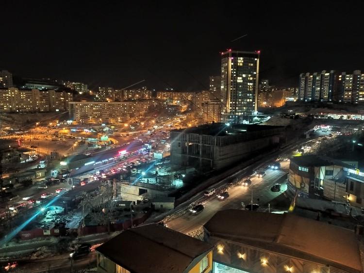Движение сковано в разных районах города