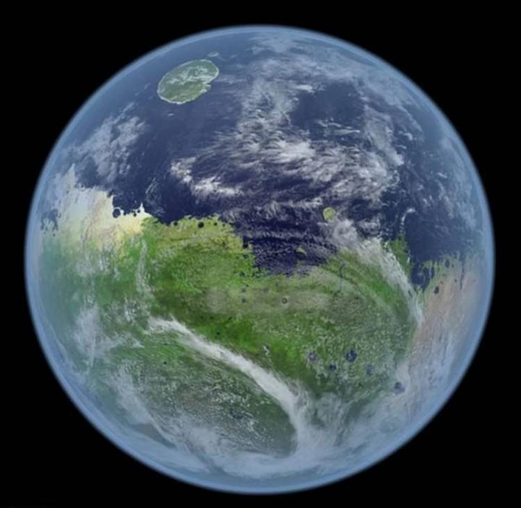Марс вчера - 3-4 миллиарда лет назад.