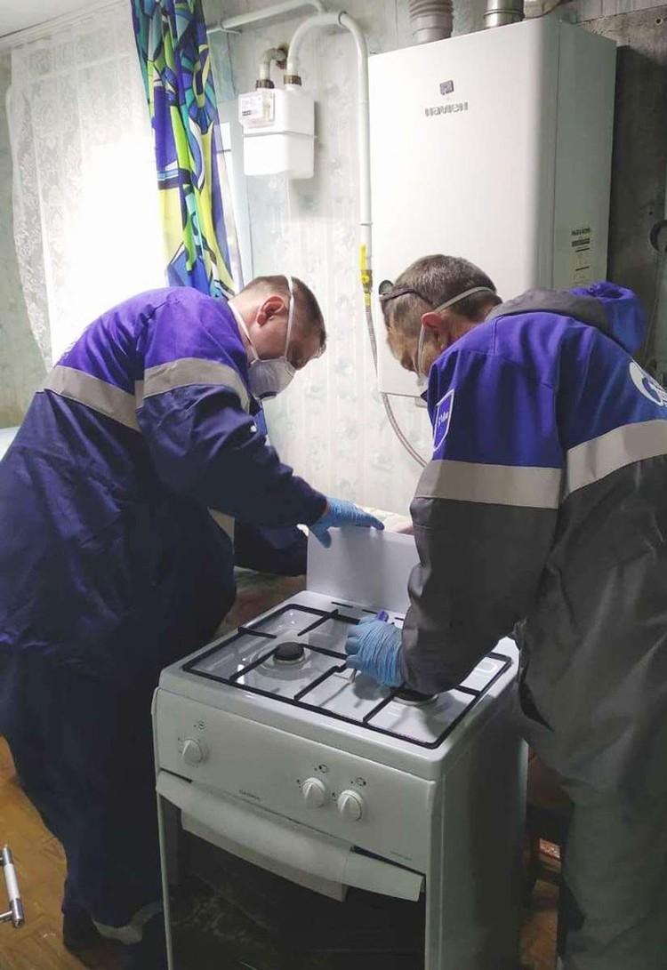 Фото предоставлено пресс-службой ООО «Газпром газораспределение Томск».