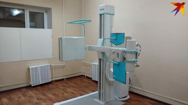 Новый флюорограф уже обслуживает пациентов