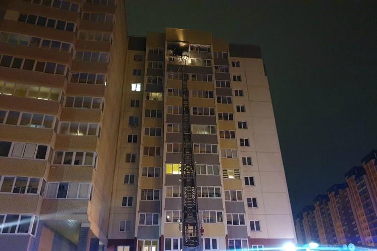 Взрыв произошел на верхнем этаже жилой высотки. Фото: Администрация Всеволожского района Ленинградской области