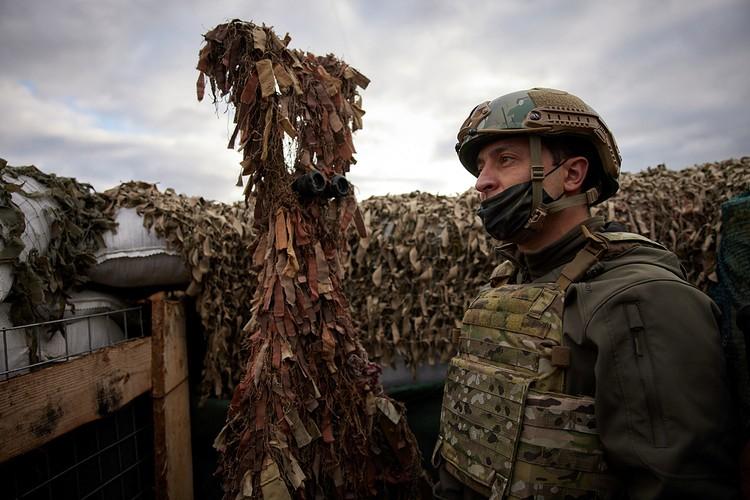 Pискнет ли Зеленский на операцию в Донбассе?