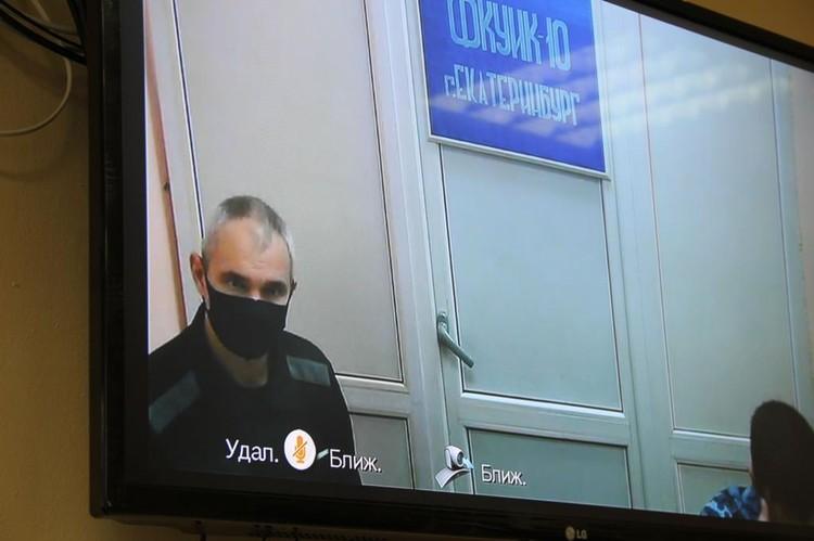 Лошагин принимал участие в судебном заседании по ВКС. Фото: пресс-служба прокуратуры Свердловской области