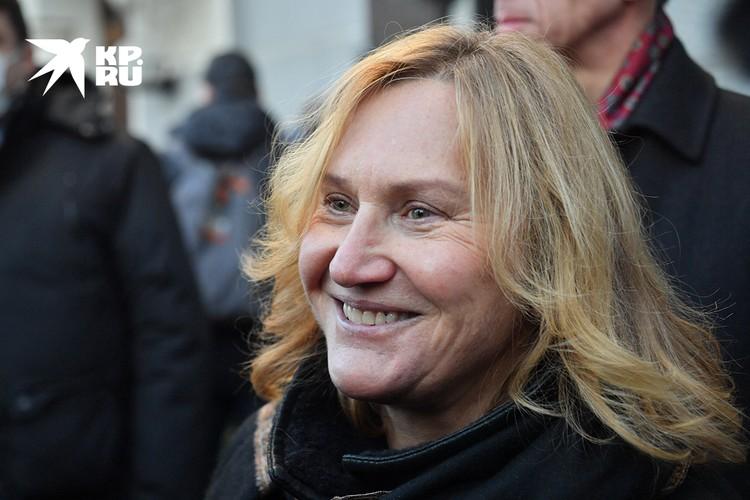 В центре внимания, разумеется, была вдова экс-мэра Елена Батурина