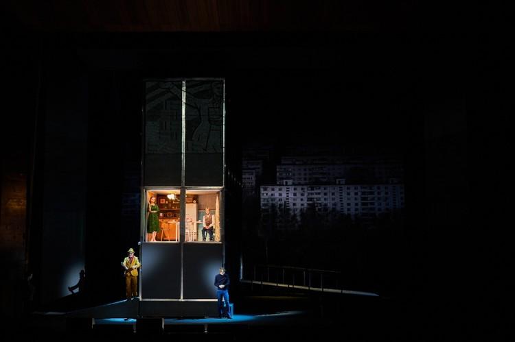 Автор текста спектакля - Евгений Водолазкин, режиссёр-постановщик – Эдуард Бояков. Фото: mxat-teatr.ru