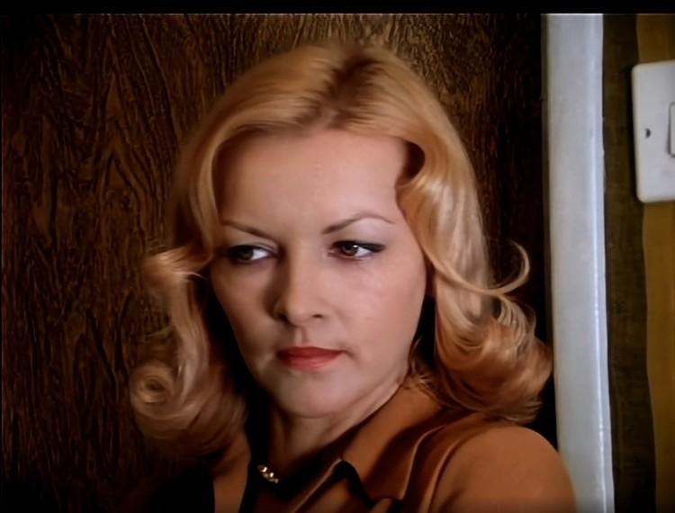 Барбара Брыльска сразу заявила режиссеру - я приехала не пробоваться, а играть роль! Фото: стоп-кадр