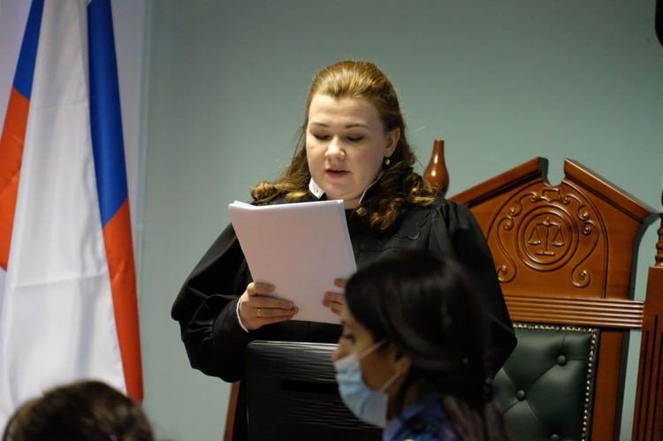 Судья приговорила Соколова к 12,5 годам колонии строгого режима