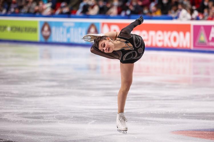 Софья Самодурова откатала программу без волнений