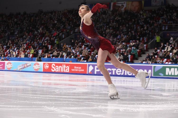 Дарье Усачевой всего 14 лет